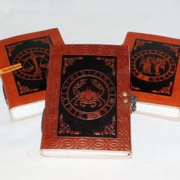 Lederbücher Sternzeichen