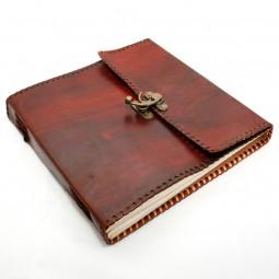 Lederbuch XL plain