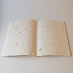 Nachfüllpapier XXL weiß m. Blüten (f. Fotoalbum)