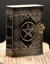 Kleines Pentagram/Eulen/Drachenbuch