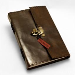 Lederbuch L klassisch