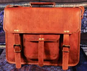 Laptop Tasche Leder 15 Zoll