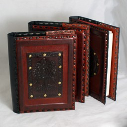 Buchhülle / Lederbuch mit Motiv