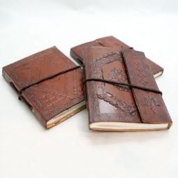 Mini-Leder-Notizbuch xs