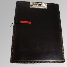 Leder-Klemmbrett A4 plain