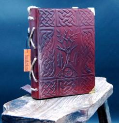 Mystisches Lederhandbuch für den schnellen Einsatz
