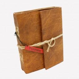 Lederbuch M handgegerbt