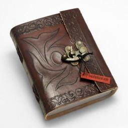 Lederbuch M keltisch